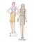 301-11 top skirt dress pattern