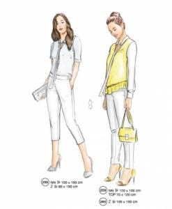 302-08 top vest pants misses