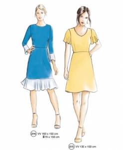 302-14 easy dress sewing pattern
