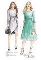 307-11 dress for work pattern
