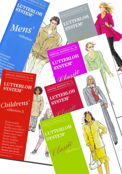 lutterloh special editions patterns for women men and children
